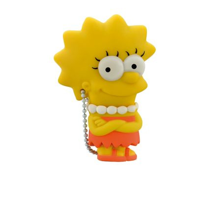 Foto 3 - Pendrive Multilaser 8GB Simpsons Lisa - PD072