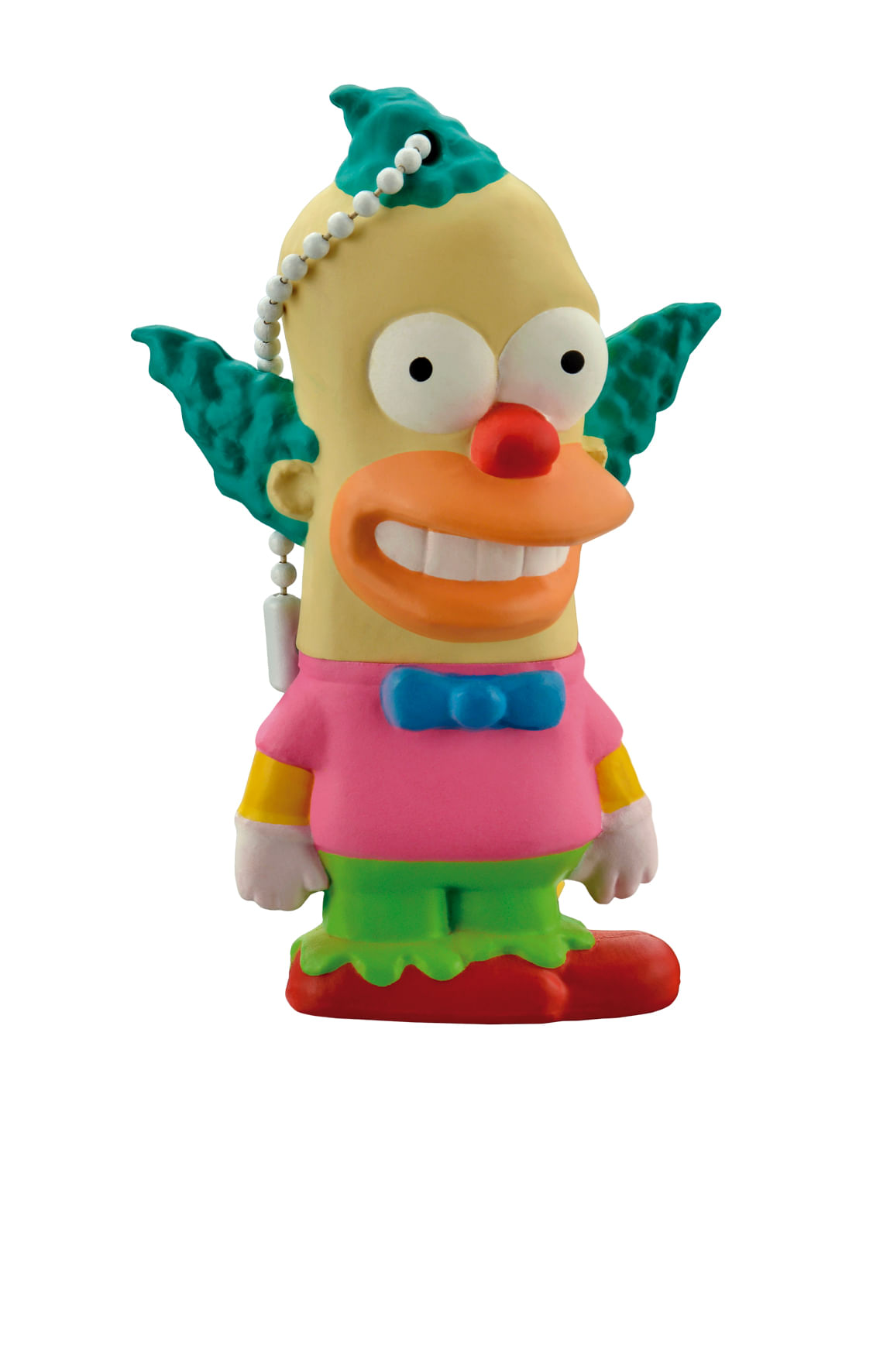 Pen Drive Krusty Simpsons 8GB USB Leitura 10MB/s e Gravação 3MB/s Multilaser - PD074