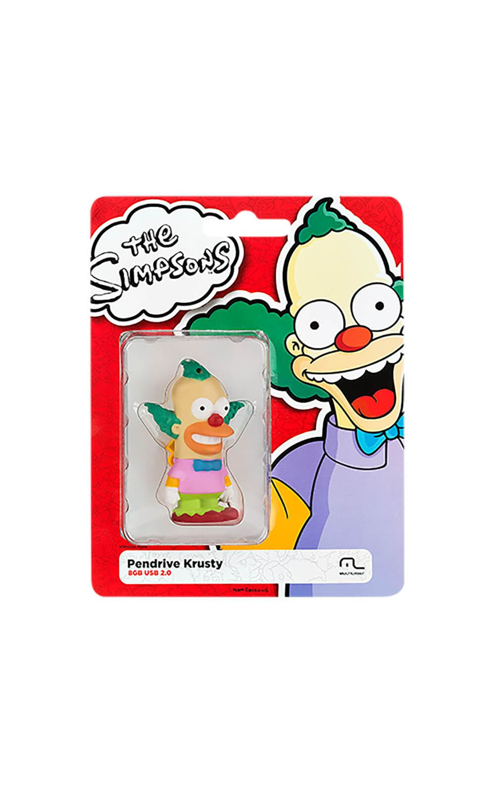 Foto 3 - Pendrive Multilaser 8Gb Simpsons Krusty - PD074