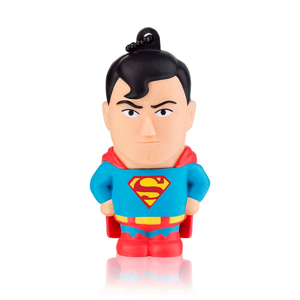 Pen Drive Dc Super Homem 8GB USB Leitura 10MB/s e Gravação 3MB/s Multilaser - PD086