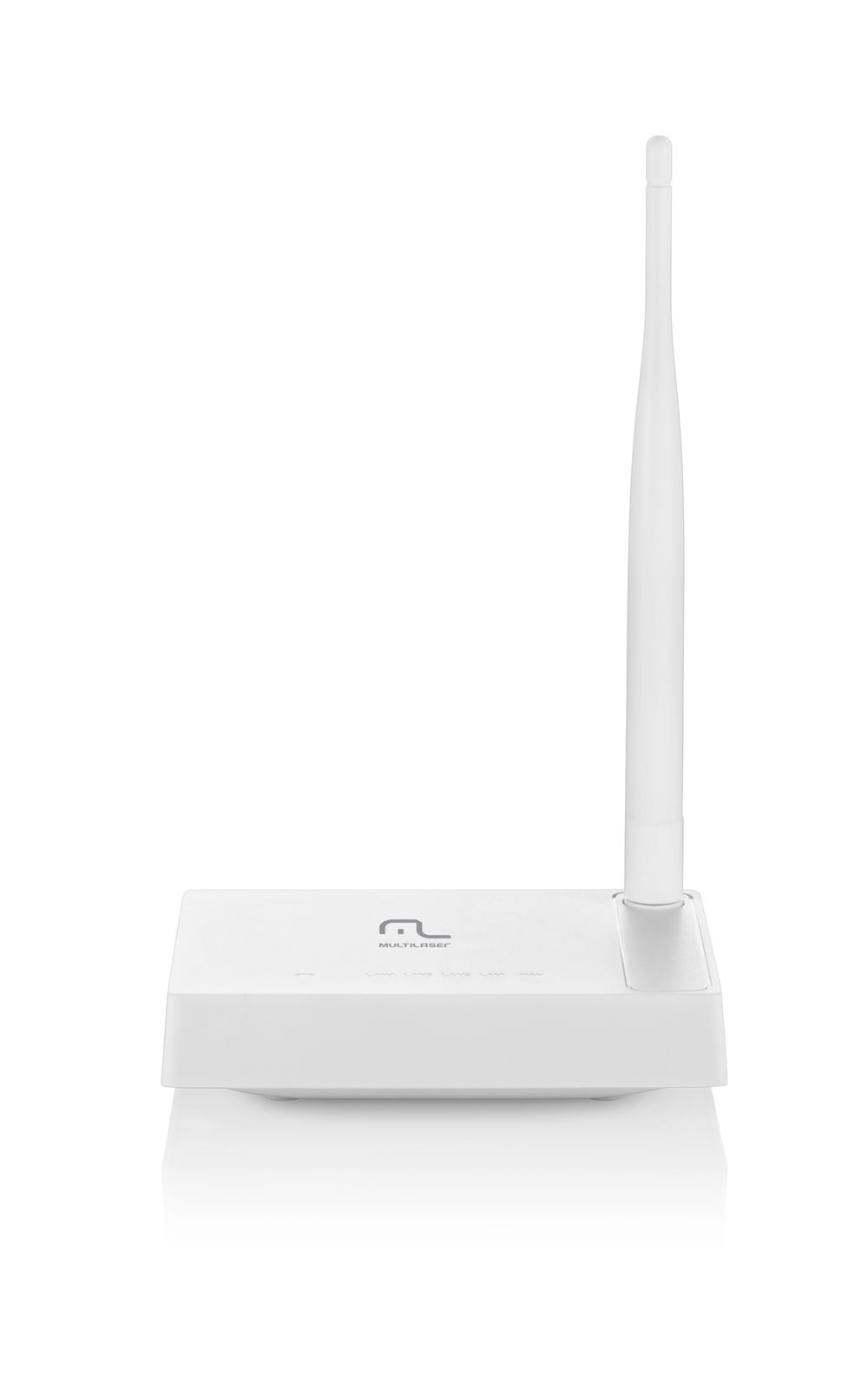 Foto 1 - Roteador Wireless 150Mbps 1 Antena Fixa 4 Portas Lan Multilaser RE057