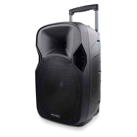 Caixa De Som Amplificadora Multilaser Trolley 150W Rms Com Alça - SP200