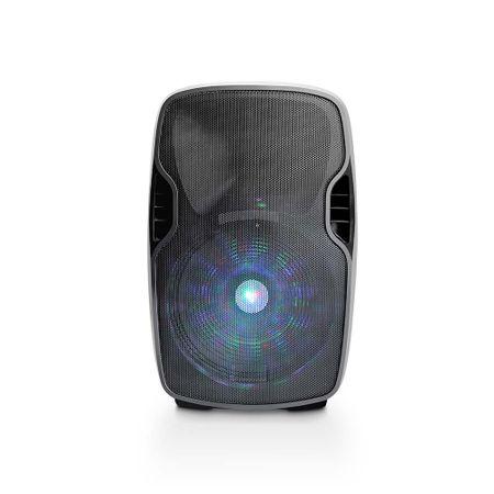 Caixa Amplificadora Multilaser Bluetooth 500W Fm + Microfone Sem Fio - SP263