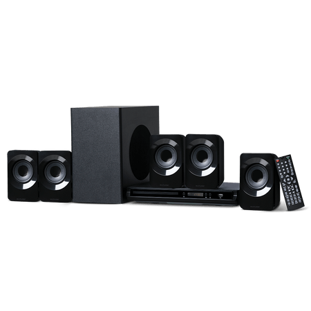 Home Theater 5.1 Canais Com Dvd Multilaser 320w - SP268