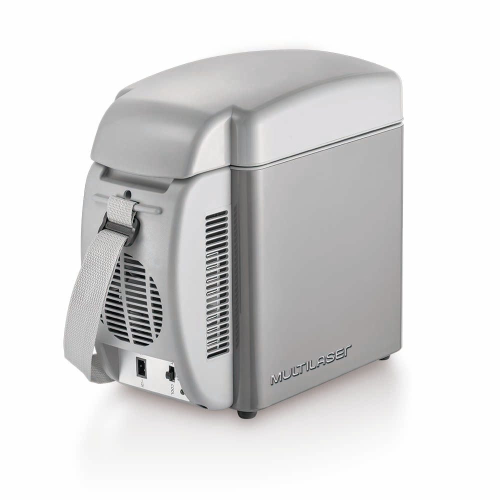 Mini Geladeira Cooler Multilaser Automotivo 7 Litros 12v Tv008
