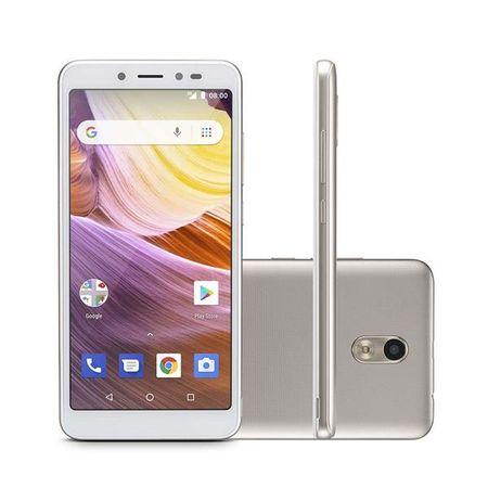 Smartphone MS50G 3G 5,5 Pol. RAM 1GB Câmera 8MP+5MP Android 8.1 Bluetooth 8GB...
