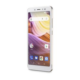 Smartphone Ms50G 3G 5,5 Pol  Ram 1Gb Câmera 8Mp+5Mp Android 8 1 Bluetooth  8Gb Dourado/Branco Multilaser - P9073