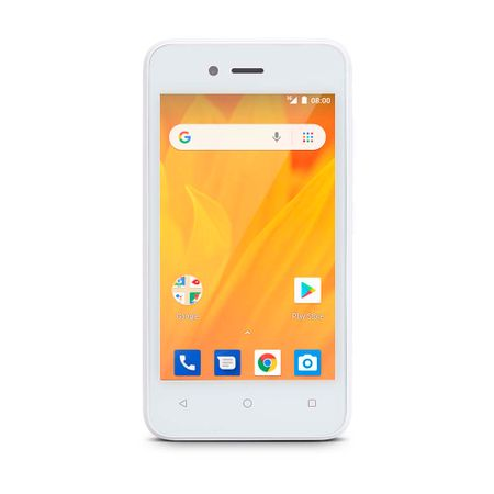 Smartphone Ms40G 3G 4 512Mb Ram + 8Gb Android 8.1 Dual Câmera 5Mp+2Mp Branco...