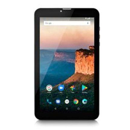 Tablet Multilaser M9 3G 1GB 8GB 9 Pol. Quad Core Dual Câmera Dual Chip Preto ? NB247
