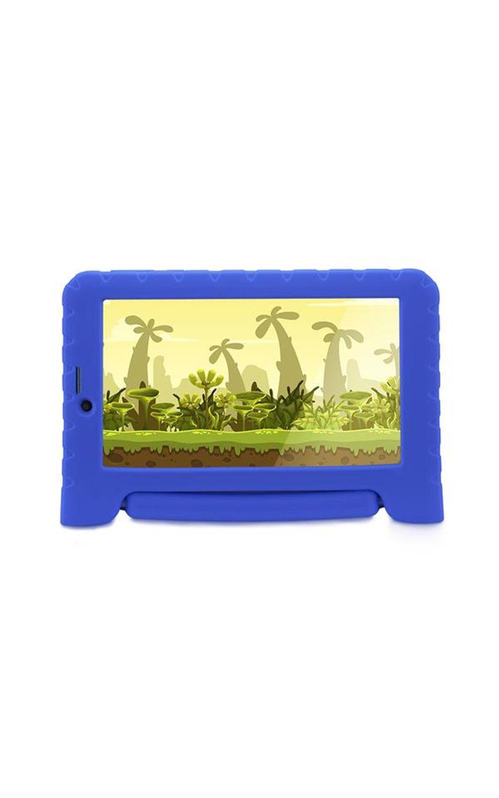 Foto 1 - Tablet Multilaser Kid Pad 3G Plus Azul 1Gb Android 8.1 Oreo Wifi Memória 8Gb Quad Core - NB291