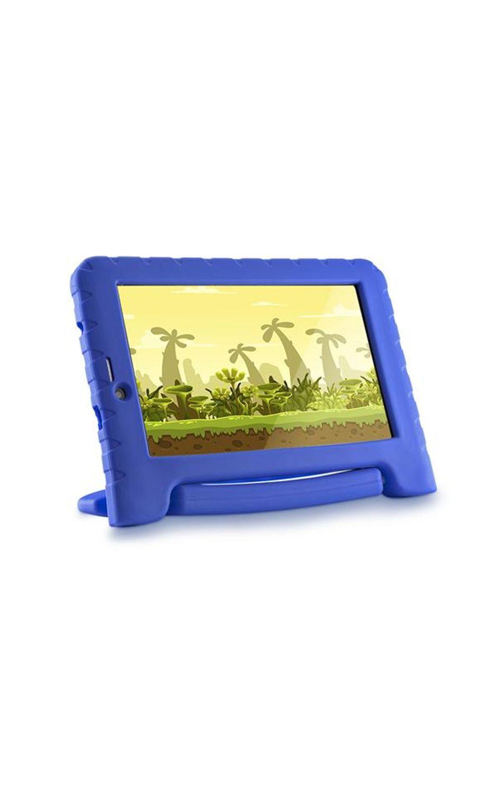 Foto 2 - Tablet Multilaser Kid Pad 3G Plus Azul 1Gb Android 8.1 Oreo Wifi Memória 8Gb Quad Core - NB291