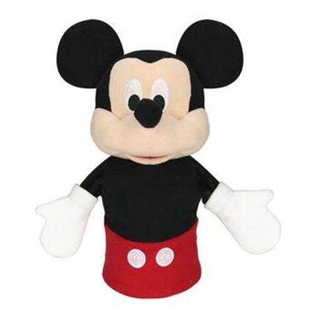Fantoche de Pelúcia Mickey 28cm Preto/Vermelho Indicado para +4 Anos Multikids...