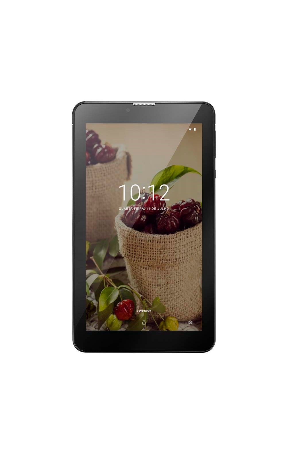 Tablet Multilaser M7 3G Plus Sênior 1GB 8GB Câmera 2.0 Mp+1.3 Mp Tela 7 Dual Chip Preto - NB294