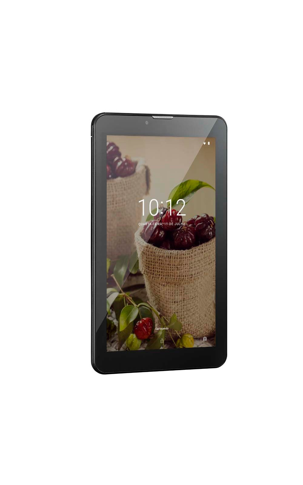 Foto 2 - Tablet Multilaser M7 3G Plus Sênior 1GB 8GB Câmera 2.0 Mp+1.3 Mp Tela 7 Dual Chip Preto - NB294