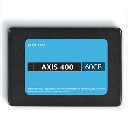 Memoria Ssd 60Gb Axis 400 - 400 Mb/S Multilaser - SS060