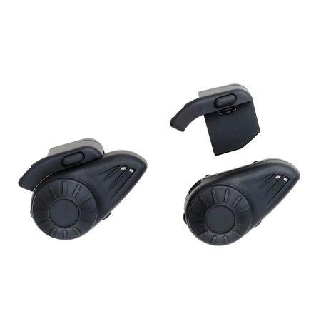 Par de Intercomunicador para Capacete com Bluetooth Alcance até 10m para Musica...