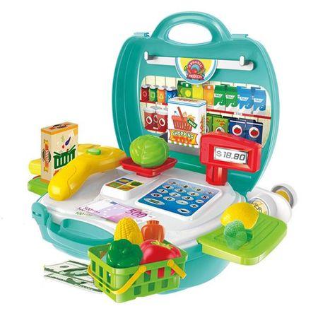 Maleta Workshop Jr Supermercado com 23 Itens Não Utiliza Pilhas Indicado para...