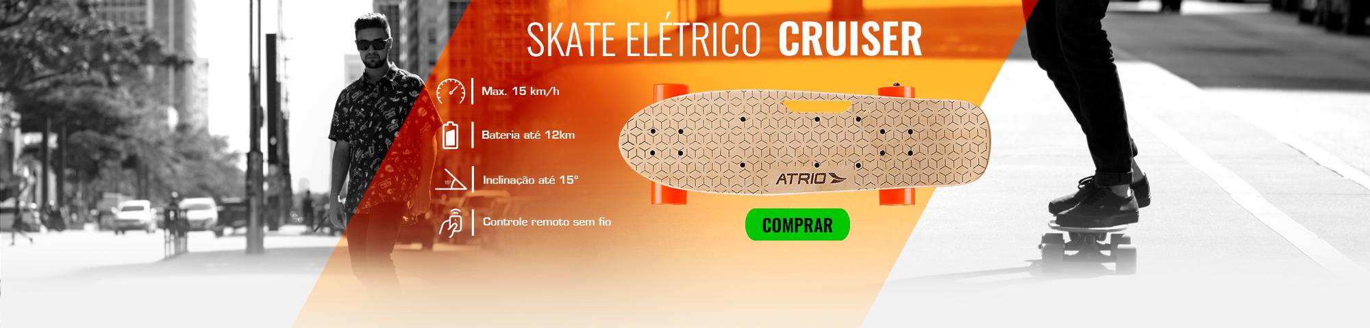 Banner Skate Elétrico