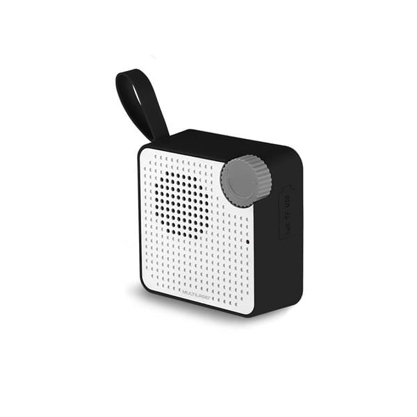 Caixa de Som Mini Multilaser Bluetooth Speaker 5W Preta - SP309