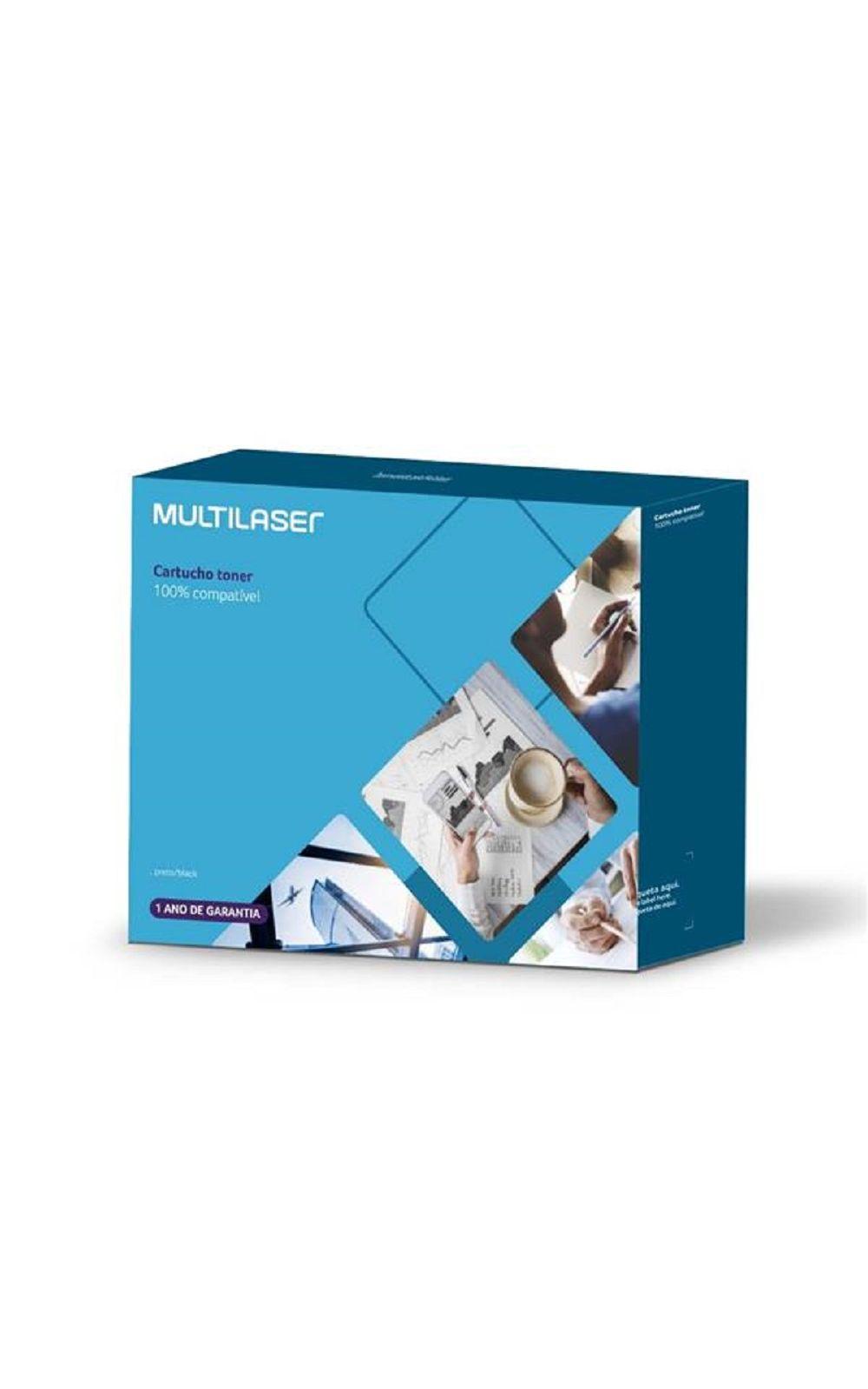 Foto 1 - Cartucho Toner Compatível C/ Hp Mod. Cb541A/Ce321A/Cf211A Multilaser - CT005