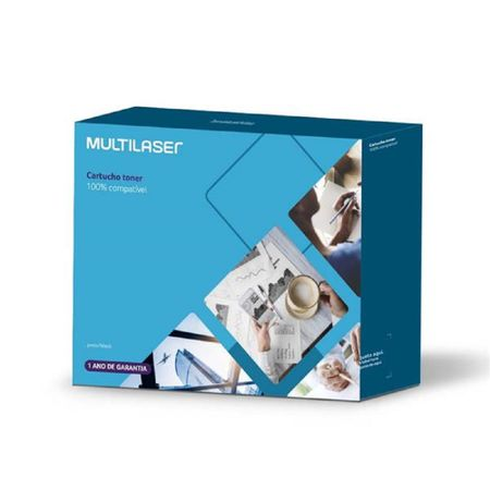 Cartucho Toner Compatível C/ Hp Mod. Cb543A/Ce323A/Cf213A Multilaser - CT007