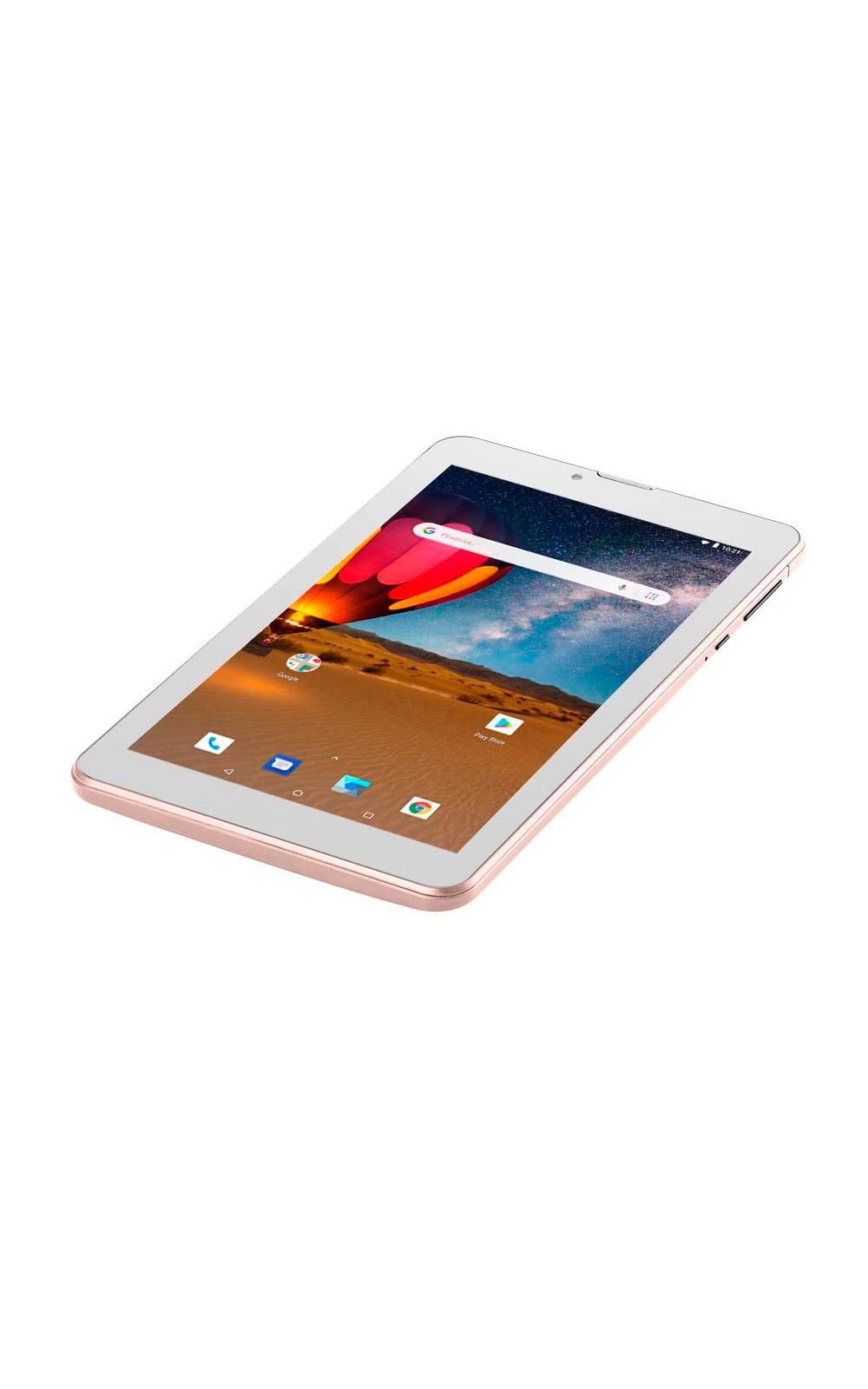 Foto 6 - Tablet Multilaser M7 3G Plus Dual Chip Quad Core 1 GB de Ram Memória 16 GB Tela 7 Polegadas Rosa - NB305