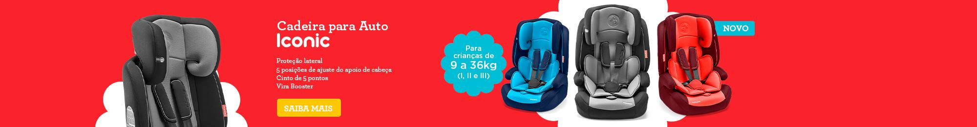 Cadeira para auto Ionic