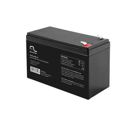 Bateria Chumbo-Ácido Selada Recarregável 12V Para Alarme E Cerca Elétrica...