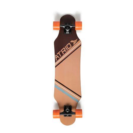 Skate Longboard Urban Sand Rodas de Polímero e Truck em Alumínio Atrio - ES249