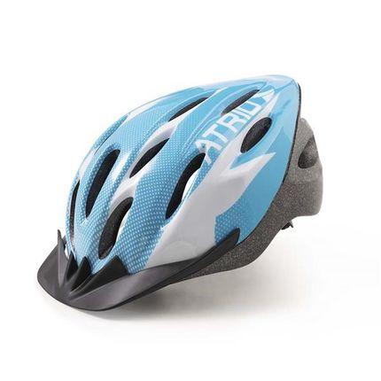 8fd934fef Capacete para Ciclismo MTB 2.0 Tam. M Viseira Removível e 19 Entradas de  Ventilação Azul