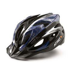 190a33983 Capacete para Ciclismo MTB Inmound 2.0 Tam. M Viseira Removível 19 Entradas  de Ventilação Azul Atrio - BI178