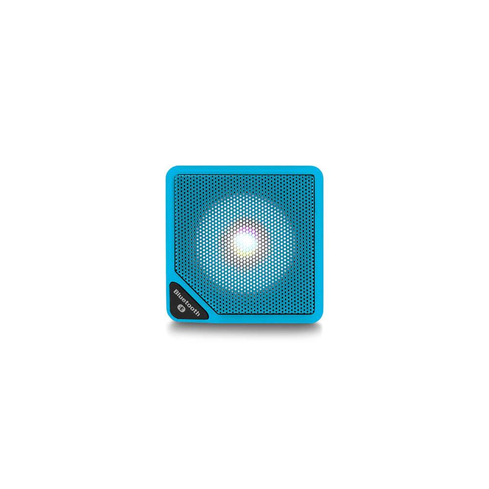 Caixa de Som Cubo Speaker 3W Azul Multilaser - SP308