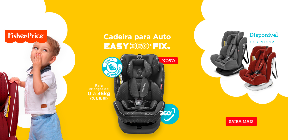 fisherPrice cadeira easy 360 fix