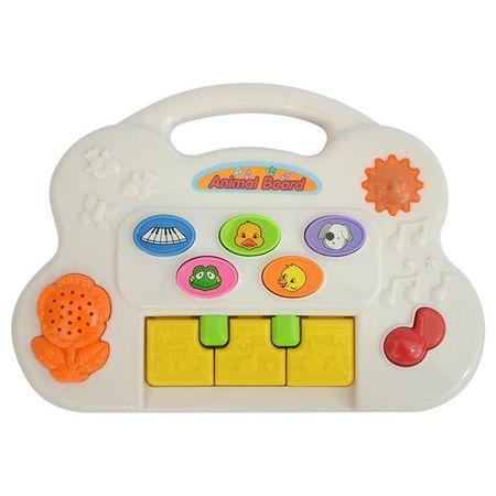 Piano Fazendinha Meu Primeiro Brinquedo Interativo Alimentação por 2 Pilhas AA...