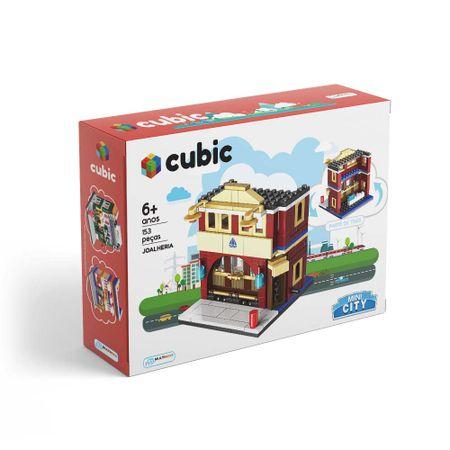 Cubic Mini City Joalheria 153 Pçeas Indicado para +6 Anos Multikids - BR1103