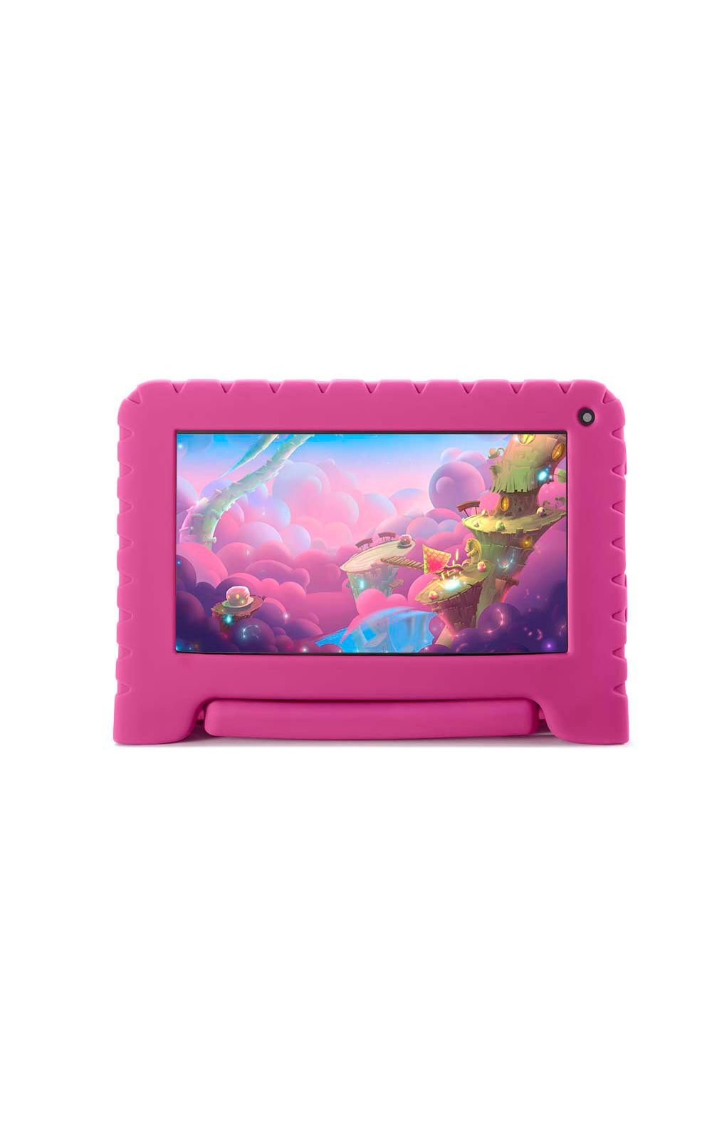 Foto 2 - Tablet Kid Pad Lite Multilaser 7 Pol. 16GB Quad Core Android 8.1 Rosa - NB303
