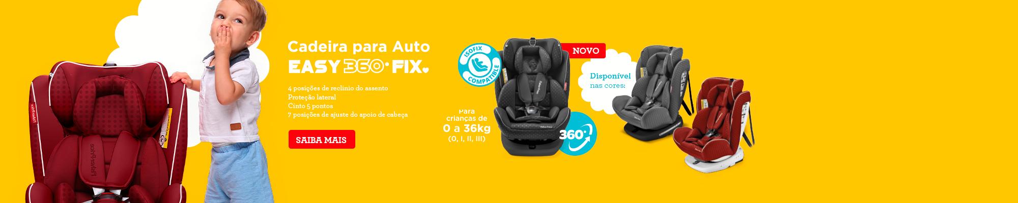 Cadeira para auto easy 360 - 2000x400