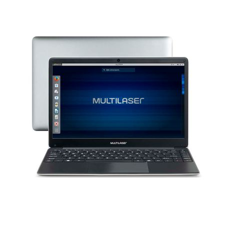 Notebook Multilaser Legacy Book Intel Celeron 4GB 500GB 14.1 Pol. HD Linux...