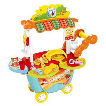 Creative Fun Food Truck Pizzaria com Acessórios Indicado para +4 Anos Multikids...
