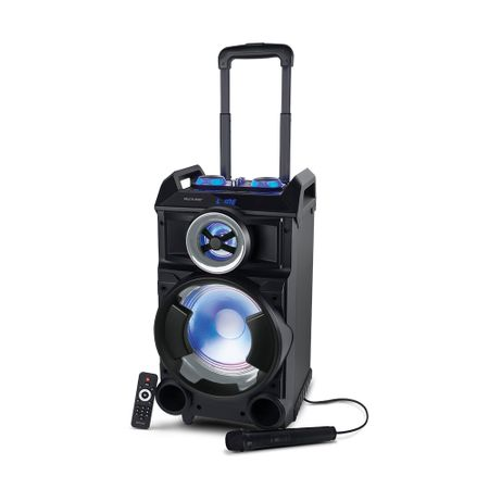 Caixa de Som Multilaser Amplificadora Torre Single Bluetooth com Microfone 300W...