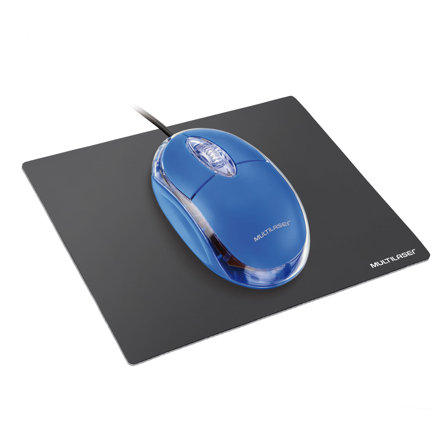 Mouse Pad Multilaser Standard 20 Unidades Preto - AC027