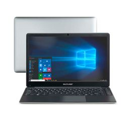 Notebook-Multilaser-Legacy-Book-Intel-Celeron-4GB-capac.-de-ate-152GB--32GB-120SSD--14.1-Pol.-HD-Win-10-Prata-Preto---PC237