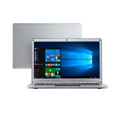 Notebook-Multilaser-Legacy-Air-Intel-Celeron-4GB-capac.-de-ate-152GB--32GB-120SSD--13.3-Pol-Full-HD-Win-10-Prata---PC240