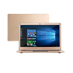Notebook-Multilaser-Legacy-Air-Intel-Celeron-4GB-capac.-de-ate-152GB--32GB-120SSD--13.3-Pol-Full-HD-Win-10-Dourado---PC241