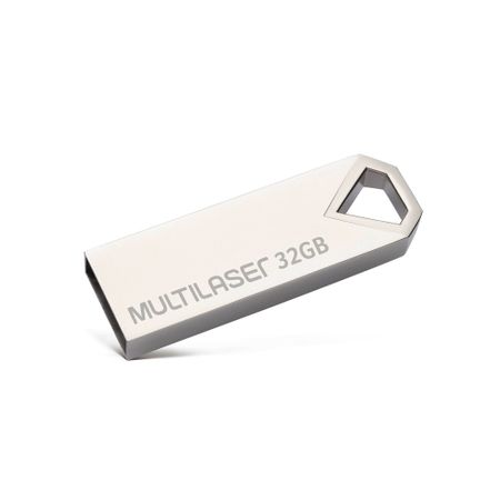 Pen drive Multilaser Diamond 32GB USB 2.0 Metálico - PD851