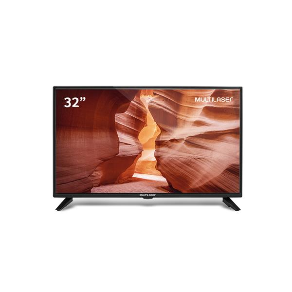 Tela 32 Pol. HD Multilaser Entradas HDMI USB  - TL022