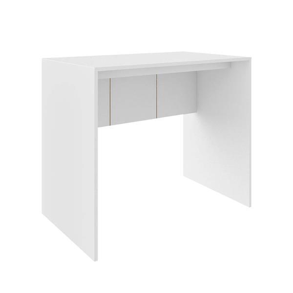 Mesa para Computador 90cm Branco Fosco - EI074