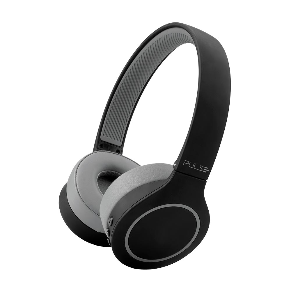 Headphone Bluetooth 5.0 Pulse Head Beats Preto Bateria 20h - PH339