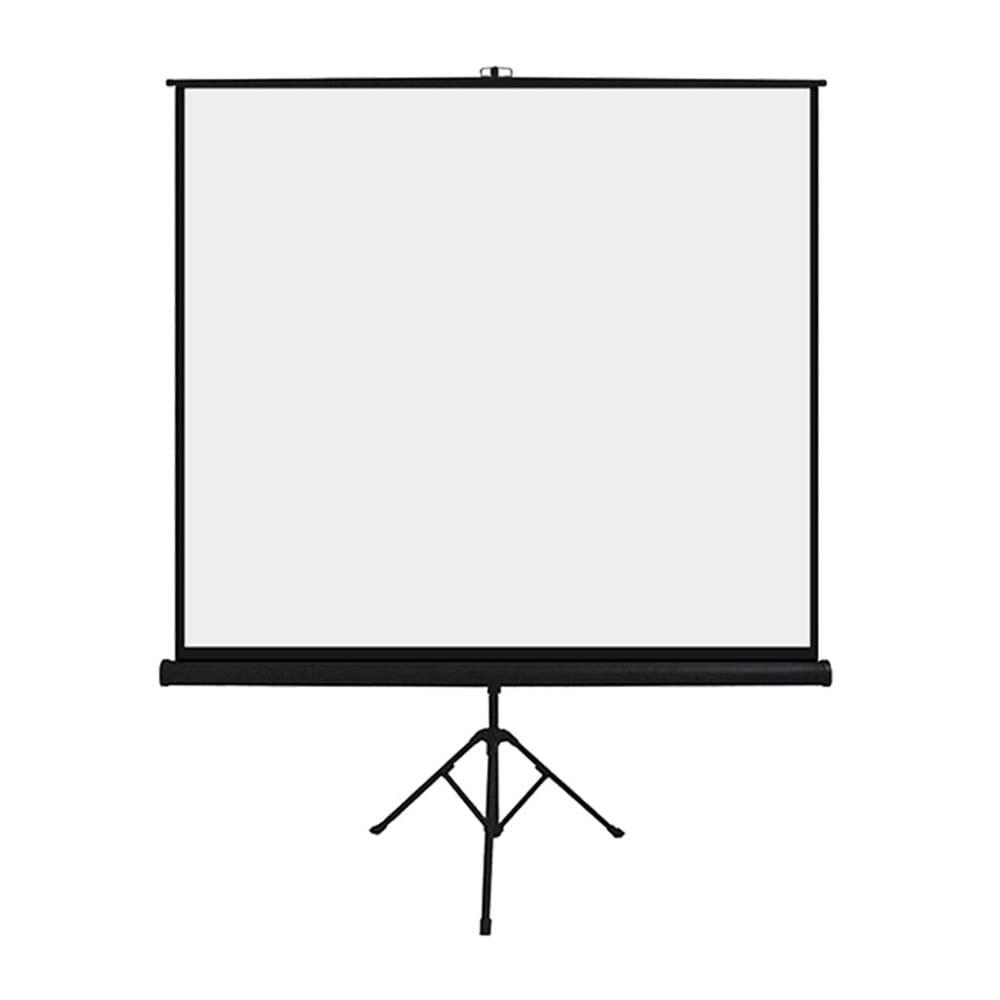 Tela De Projeção C/ Tripé 1,80x1,80m 97 Polegadas Retrátil - AC354