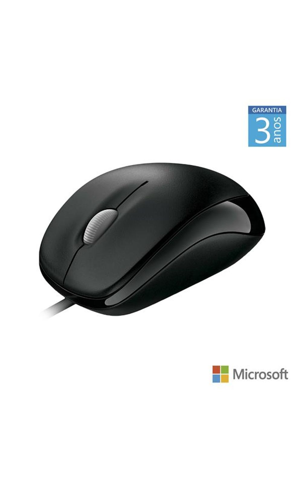 Foto 1 - Mouse Com Fio Compact Usb Preto Microsoft - U8100010